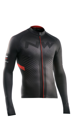 Northwave Extreme LS Jersey Men black/red